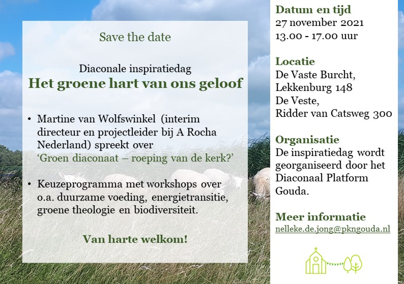 Save the date: Diaconale inspiratiedag op 27 november!